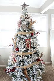 christmas decoration at home rustic plaid christmas tree the glam farmhouse