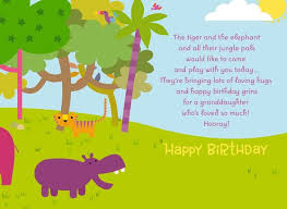 Jungle Birthday Card Jungle Animals Birthday Card With Coloring Activity For