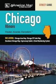 Chicago Illinois Zip Code Map by Chicago Il Street Guide American Map 9780762572212 Amazon Com