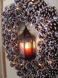 Christmas Decorations And Wreaths by 55 Awesome Outdoor And Indoor Pinecone Decorations For Christmas