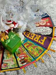 gingerbread christmas tree skirt christmas lights decoration