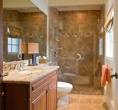 bathroom wooden floor glass shower room white granite wall