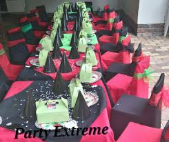 party extreme functions