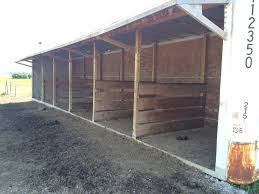 12x30 run in shed lean to shed plans pinterest barn horse