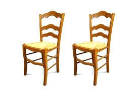 chaise en bois et paille chaise bois assise paille lot de 2 chaises en bois avec assise en