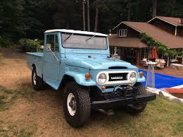nissan pickup 1987 top condition toyota land cruiser fj45 pickup waiting for you