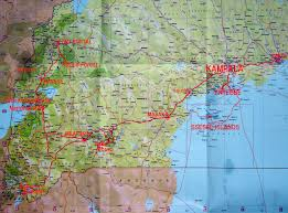 Houston Metro Bus Map by Uganda Travel Maps Online Map