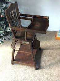 high chair converts to chair antique wooden high chair that converts into stroller antique wooden high