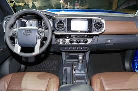 1999 Tacoma Interior 5 Things To Know About The 2016 Toyota Tacoma