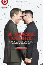 wedding registry for guys target s same registry ad praised by lgbt advocacy