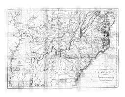 Topographic Map Of The United States by Digital History
