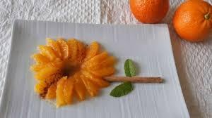 eau de fleur d oranger cuisine salade d oranges cannelle eau de fleur d oranger recette par