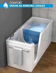 vasche da bagno con seduta vasche remail con sportello per anziani e disabili