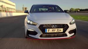 hyundai i30 n footage youtube