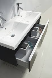 wg073e 46 4 alexius 46 inch bathroom small double vanity sink