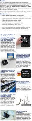 design pc gehã use p touch pt d450 label maker labelling machine pc