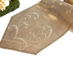 gold christmas table runner romantic gold wedding table runner burlap table runner embroidered