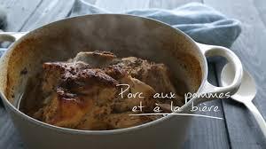 cuisine à la bière porc aux pommes et à la bière cuisine futée parents pressés