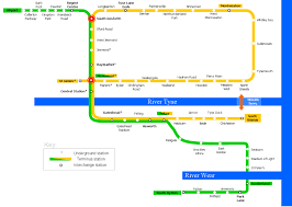 Metro Yellow Line Map by List Of Tyne And Wear Metro Stations Wikipedia