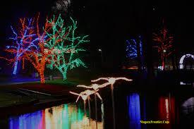 christmas lights in niagara falls ontario niagara falls winter festival of lights