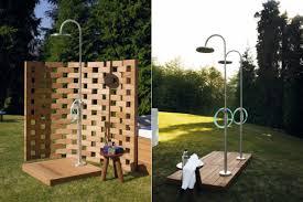 box doccia da esterno le docce da giardino con il design più bello