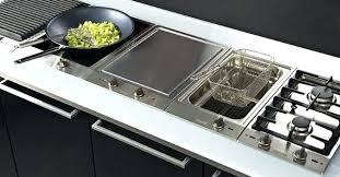 cuisine plaque plaque electrique cuisine le compromis la table mixte plaque
