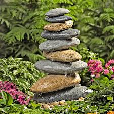 Rock Fountains For Garden Riverstone Garden The Green
