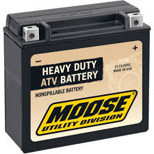 moose non spillable 12 volt battery 2113 0052 atv motorcycle