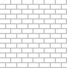 white bricks background seamless vector flat design wall tiles