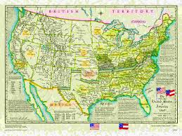 United States Civil War Map by Us Historical Series