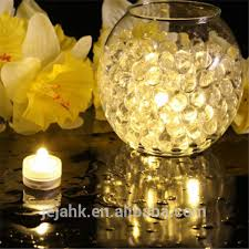 Waterproof Vase Lights Wedding Supplies Craft Glass Centerpiece Vase Small Led Battery