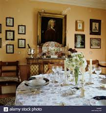 victorian dining table setting stock photos u0026 victorian dining