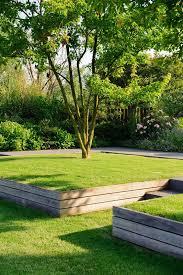 low wooden retaining luc engelhard landscaping retaining walls