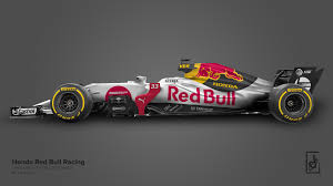 honda red bull racing 2019 livery concept formula1