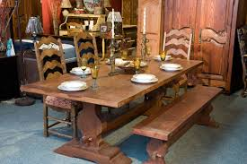 table cuisine bois massif meubles de salle à manger table de bois massif faites sur mesure