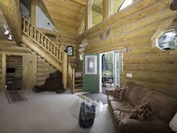 mountainside house plans 2 story log home nestled on a mountain side vrbo