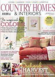 country homes and interiors magazine as seen in