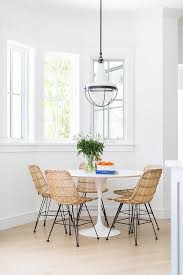 Dining Room Wonderful Sophisticated Style Rattan Chairs For Wicker - Wooden dining table with wicker chairs