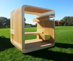 a full scale prototype of a sleeping pod by yazdani studio of