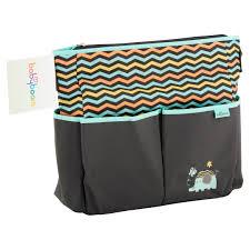 Baby Boom Elephant 8 Pockets Tote Diaper Bag Walmart Com