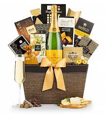 wine and chocolate gift baskets veuve clicquot and chocolate tasting gift chagne gift