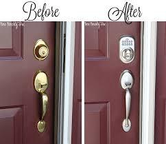 Lowes Metal Exterior Doors Dress Up Your Doors 100 Lowes Giveaway With Front Door Handles