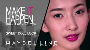Challenge Up Your Nose Tutorial Sweet Doll Kompetisi Doll It Up Challenge Maybelline