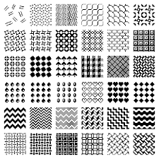 Pattern Clip Art Images | fill patterns clipart