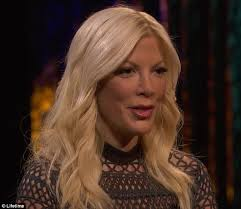 hairstyles suitable for 42 year old woman tori spelling shares throwback photo from 1983 when she had brown