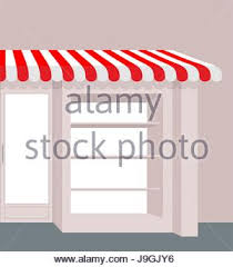 Red And White Striped Awning Canopy Awning Striped Store Element Design Canopy And Tent Blind