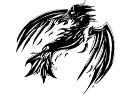 black broken wings designs for bicep tattooshunt com