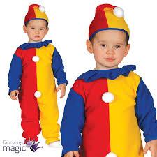 clown jumpsuit boys baby toddler circus clown jumpsuit fancy dress costume