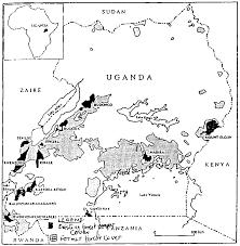 Map Of Uganda Pilot Country Study Uganda