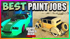gta 5 online best rare paint jobs mint green peaches